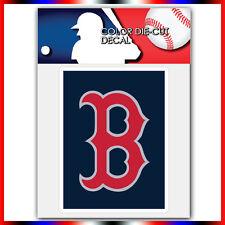 "Boston Red Sox MLB Die Cut Vinyl Sticker Car Bumper Window 4""x3.1"""