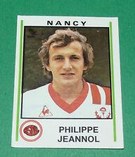 N°178 PHILIPPE JEANNOL ASNL NANCY PANINI FOOTBALL 81 1980-1981