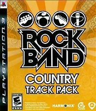 Rock Band: Country Track Pack rare Playstation 3 Game PS3 Mint Complete