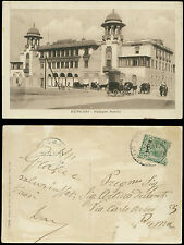 cartolina militare BENGASI palazzo nobili