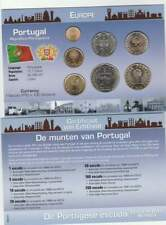 Muntset Kon.Ned.Munt Europe UNC 2001 - Portugal