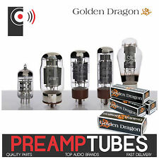 GOLDEN DRAGON Premium PREAMP Tubes / valves ECC81 82 83 6SL7GT 6SN7GT tube valve