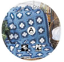 Aprender A Crochet Video curso de instrucción paso a paso Guia De Discos Dvd