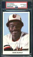 Eddie Murray PSA DNA Coa Hand Signed Team Issue Tigers Photo Autograph