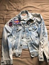 Levi's Jean Jacket Custom Punk Rock Rocker Feminist