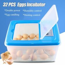 30-64 Eggs Electronic Digital Incubator Hatcher Automatic Incubation Chicken New