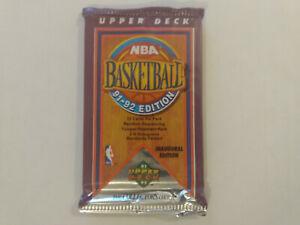 1991-92 Upper Deck NBA Basketball Card Packs 1 x Sealed Packet, Jordan?