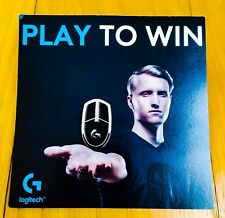 Official Logitech Gaming Mouse Pin PAX 2018 Exclusive Brand New