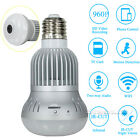 360° Wireless WiFi HD 1080P Hidden SPY Light Bulb IP Security Camera Panoramic
