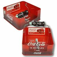 Coke Coca Cola Tin Flat Napkin Holder Dispenser!