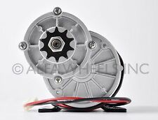 600W 36 V DC electric motor f bicycle bike gokart scooter MY1020z gear reduction