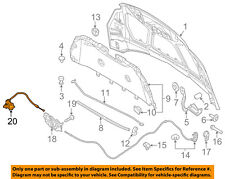 FORD OEM 12-16 Focus Hood-Release Handle Lever CV6Z16A770A