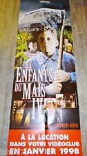 LES ENFANTS DU MAIS 4 ! stephen king affiche visuel video / PAS SORTIE EN SALLE