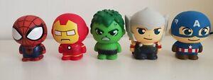 Marvel Sega Avengers Minis Collectible  Figure Set of 5
