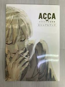 ACCA: 13-Territory Inspection Dept Visual Book Art Design Works MADHOUSE JAPAN