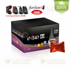 Pop Caffè 100 Capsule Cialde Compatibili FiorFiore Fior Fiore Coop CREMOSO ETuo