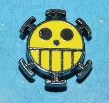 """One-Piece Japanese Anime Trafalgar Law Logo Metal Enamel 1"""" Pin"""