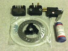 """MCP Brake Kit for 1 1/4"""" Axle Go Kart Mower Drift Trike QRC With Mini Lite Rotor"""