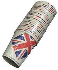 Case of 960 Union Jack Cups British Celebrations - 80 packs of 12 - Armed Forces