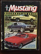 1964 1/2 - 1973 FORD MUSTANG RECOGNITION GUIDE Autographed By DONALD FARR