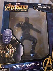 Marvel Gallery Avengers: Infinity War CAPTAIN AMERICA Figure PVC Statue Diorama
