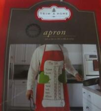Cute New Adult size Christmas Apron Naughty Nice List-Lots of Names Guy or Girl