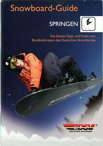 Snowboard-Guide Springen DSV