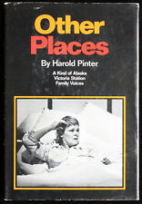 Other Places - Harold Pinter - hardcover w/dj 1st/BCE