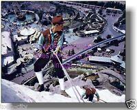 Disneyland Matterhorn NEW 8x10 photo 1959 vintage image of old Fantasyland