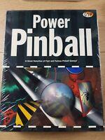 Retro Vintage Power Pinball Pc Game New Sealed - The Visitors Kickoff Tarantula