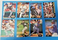 1992 Topps Stadium Club 38 Card Lot with McGwire, Justice, Gibson, Vaughn MINT