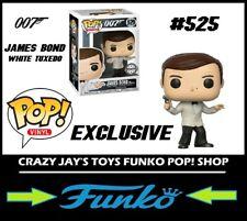 Funko Pop! Vinyl Exclusive: James Bond 007 White Tuxedo #525