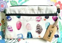 "NEW! ""Typo"" Campus Pencil Case Cosmetic Bag - Gem Stones"