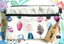 """NEW! """"Typo"""" Campus Pencil Case Cosmetic Bag - Gem Stones"""