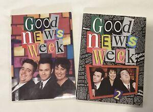 RARE Good News Week 1 (SIGNED) & 2 ABC McDermott Robins McCrossin 1997 1998