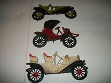 Vintage Automobile Wall Plaques Arrow, Hupmobile, Buick, Midwest Products - Guc