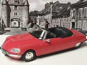 Voiture miniature 1/43 Citroën DS 21 Cabriolet Norev