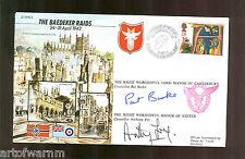 JS50/42/5  BAEDEKER RAIDS  1942  signed RAF WW2 comm. cover