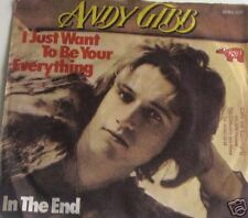 """7"""" Andy Gibb: i Just Want to be your everything * VG + *"""
