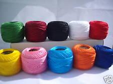 10 ANCHOR Ricamo Perle Cotone No.8, 10 Diversi colori