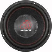 "Massive Audio HIPPOXL 152R 6000W Max (3000W RMS) 15"" Car Subwoofer"
