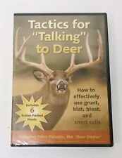 Deer Hunting Tactics - Talking to Deer Grunt Blat Bleat Snort DVD FACTORY SEALED