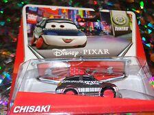 "DISNEY PIXAR CARS ""CHISAKI"" Die-Cast Metal, Scale 1:55, Mattel, NEW"