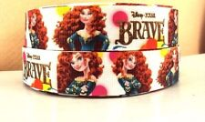 "1"" Disney Princess Merida-Brave-Grosgrain 4 Yards-Printed-Hair Bow Supply-Sewing"