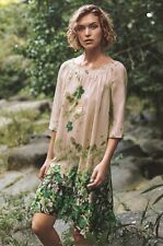 NEW Anthropologie Rainforest Swing Dress Size Small