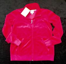 NWT Juicy Couture New Genuin Ladies Small Pink Velour Maternity Jacket UK 8 / 10