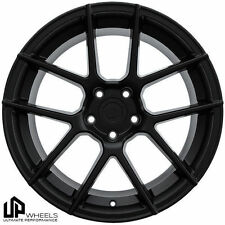 "19"" UP520 BLACK 19x8.5/9.5 STAGGERED 5x112 WHEELS RIM FIT MERCEDES S SL SLK AMG"