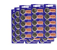 ***CR2032** Lithium Battery 3V (pack 20 pcs) by SONY expire 2027 US Seller