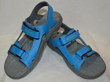 Columbia Boy's Techsun Vent Grey/Blue Outdoor Sandals - Size 3/4/5 NWOB