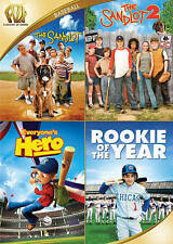 The Sandlot 1 & 2/Everyones Hero/Rookie of the Year (DVD, 2015, 4-Disc Set)New